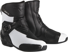 Alpinestars SMX-3 Mens Vented Motorcycle Boots Black/White