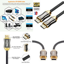 Ultra HD 4K HDMI V2.0 Cable High Speed Ethernet 3D HDTV 2160p 60Hz Braided Cable