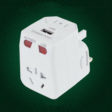 AU US UK EU Plug Adaptor Universal Plug Adapter World Travel AC Power Charger