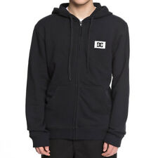 "DC Shoes ""Stage Box"" Zip Up Hoodie (Black) Men's Skate Fleece Hooded Jacket"