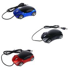 3D Car Optical Car Shaped Mouse Mice 800DPI USB Cable Gamer Mouse for Laptop