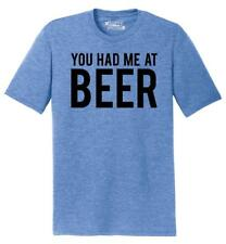 Mens You Had Me At Beer St Patty's Day Tee Tri-Blend Tee Alcohol Party Pattys