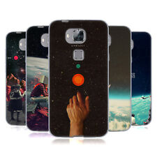 OFFICIAL FRANK MOTH SPACE SOFT GEL CASE FOR HUAWEI PHONES 2
