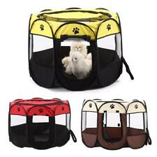 Folding up Pet Carrier Bag Travel Tote Soft-sided Dog Cat Crate Kennel House