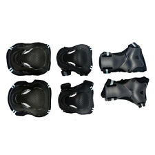 6 Sets Knee Pads Wrist Guard Elbow Protector Kit for Skiing Skating Riding