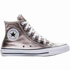 Converse Chuck Taylor All Star Hi Rose Quartz White Womens Canvas Trainers