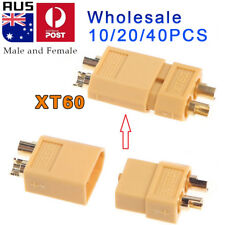 XT60 XT-60 5/10/20 Pairs Female + Male Bullet Connectors Plugs RC LiPo Battery O