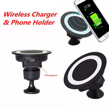 Qi Wireless Car Charger Dock Charging Pad for Samsung S8 S7 Note8 iPhone X 8 8+