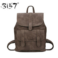 Fashion Women PU Leather Backpack New Design School Bags for Teenage Girls