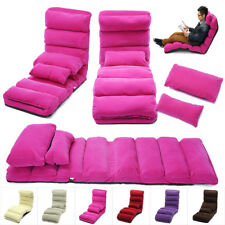 81''/69'' Removable Foldable Lazy Sofa Chair Sofa Couch Bed Lounge Chair Pillow