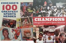 Chicago Blackhawks Bears White Sox Cubs Bulls Heroes Champions Moments Magazine