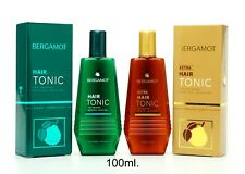 100ml BERGAMOT HAIR TONIC AND EXTRA TONIC THE ORIGINAL HAIR FALL SOLUTION