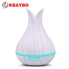 Home Air Mist for Wood 400ml Oil Aroma Humidifier Ultrasonic Diffuser electric