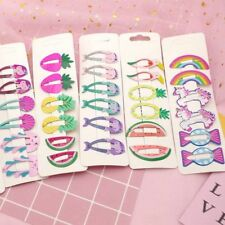 6pcs Girls baby Hair Clips Snaps Hairpin Girls Baby Kids Hair Bow Accessories