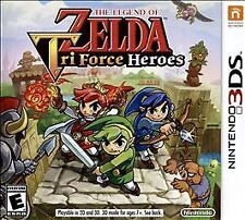 Legend of Zelda: Tri Force Heroes (Nintendo 3DS, 2015) Perfect Used Condition