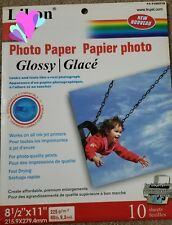 "HIGH QUALITY GLOSS PHOTO PAPER A4/8 1/2x11"" GLOSSY INKJET PRINTER/225GSM"