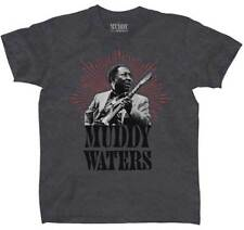 Muddy Waters Portrait Chicago Delta Blues Rock Jazz Music T Shirt PSP-MDD-1001
