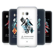 OFFICIAL ASSASSIN'S CREED LEGACY CHARACTER ARTWORK GEL CASE FOR HTC PHONES 1