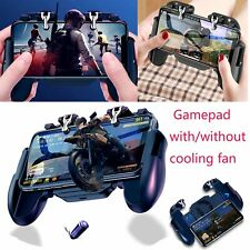 For iOS Android Mobile Phone PUBG Gamepad Controller Holder & Cooling Fan ABS