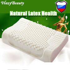 HazyBeauty Thailand Import Breathable Natural Latex Pillow Bed Cervical Orthoped