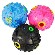 Creative Giggle Ball Pet Dog Sound Training Chew Treat Holder Toy Food Dispenser