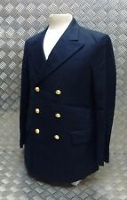 Genuine Military Naval Double Breasted Dress Jacket With Anchor Buttons - NEW