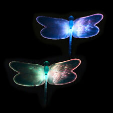 Solar Power Butterfly Lawn Dector Garden Stake Landscape Lamp Outdoor Light T0P7