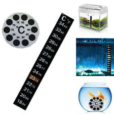 Fish Tank Tool Thermometer Sticker Celsius/Fahrenheit  Thermograph Temperature