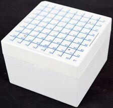Nalgene CryoBox 81-Place White 9x9 Array Cryogenic Vial Storage Box/Divider/Rack