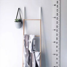 Children Kids Wall Decals Growth Chart Hanging Height Canvas Ruler Hot Sell FA