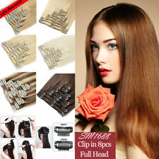 """Real Remy Human Hair Extensions Ombre Mix 20 colors 18"""" 20"""" 22"""" 24"""" 80g High SY"""