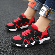 Kids Boys Athletic Sneakers Casual Sports Running Shoes Mesh Breathable Youths
