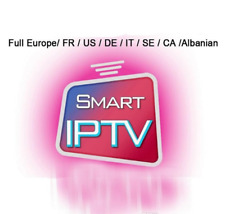 12 MONTHS IPTV Subscription USA ARABIC FRANCE CANADA +7000Ch HD +3500VOD