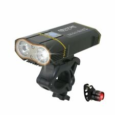 6000LM Bicycle Light 2x XML-L2 LED Bike Light With USB Rechargeable Battery