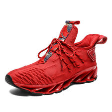 Men's Air Cushion Outdoor Running Jogging Shoes Athletic Flyknit Sports Sneakers