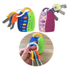 Flash Musical Smart Remote Car Key chain - Baby Toy 12 Months+