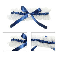 Women Sexy Lace Floral Wedding Prom Bridal Garter Belt Bowknot Elastic Leg Loop