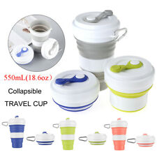Telescopic Drinking Mug Coffee Cups Kitchen & Dining Collapsible Silicone Cup