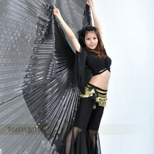 Belly Dance Costume Isis Wings 12 Solid colours 360 ° wings and Opening wings