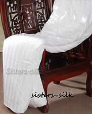 100% Silk Filled Quilt/Comforter ~Super King  Free p&p!