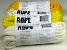 ASSORTED ALL PURPOSE ROPE SIZES AND COLORS