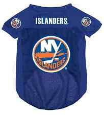 NEW YORK ISLANDERS PET DOG MESH HOCKEY JERSEY ALL SIZES LICENSED