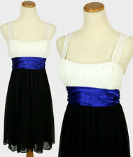 CITY STUDIO Black Junior Party Day Evening Cocktail Dress NWT Size M