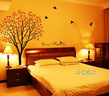 Wall Decor Decal Sticker Removable vinyl large tree 72""