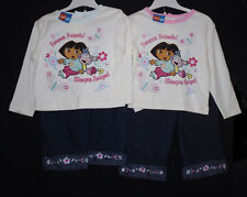 BABY GIRLS OUTFIT/2 PIECE SET DORA AGE 12-24 MONTHS