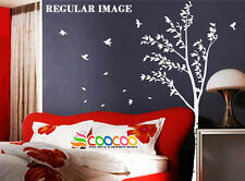 Wall Decor Decal Sticker Removable large tree trunk 6'A