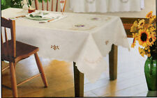 Elegant New Embroidered Table Cloth 14 Designs