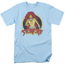Licensed DC Teen Titans Starfire Adult Shirt S-3XL