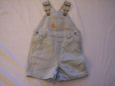NWT Boy's Gymboree Little Surfer Dude jean overalls shorts ~ 12 18 24 months
