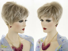 Short, chic, Salon Cut Style Blonde Brunette Red Straight Wigs Timeless Style